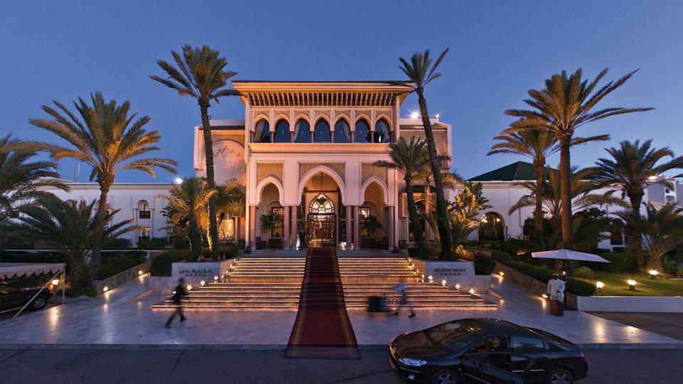 L'hôtel du rallye à Agadir.